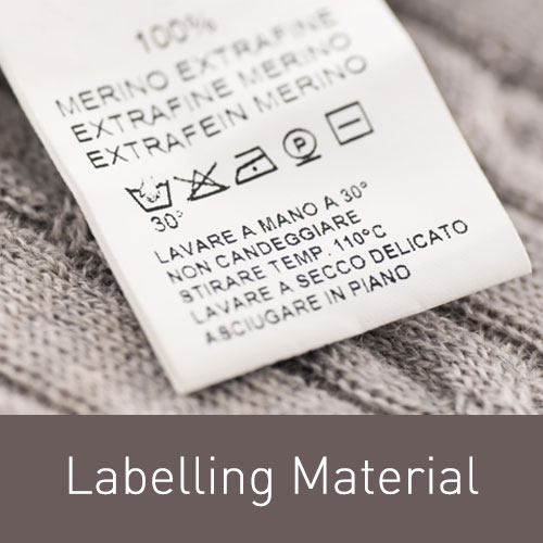 Click to see our available label material products