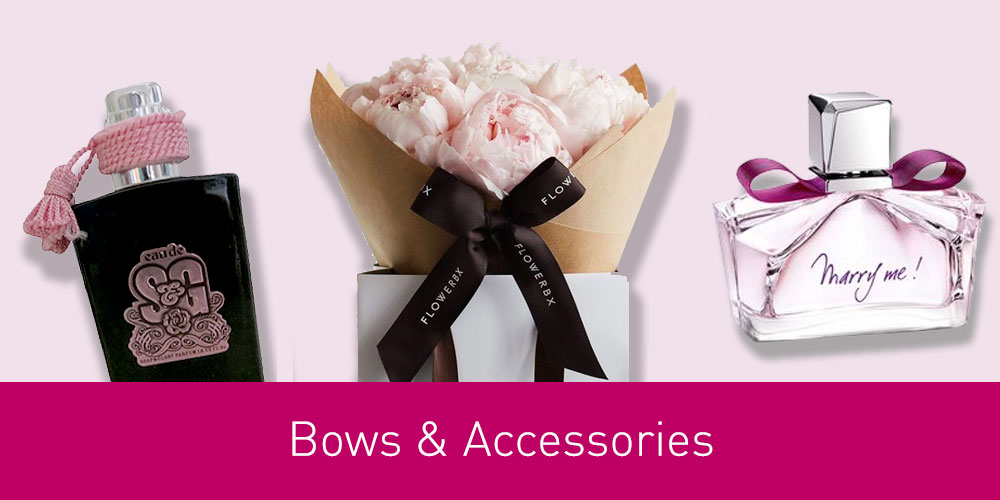 Click to lean about Bows & Accessories/Trims